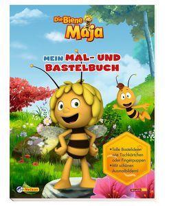 Die Biene Maja: Mein Mal- und Bastelbuch von Leintz,  Laura