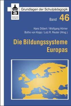 Die Bildungssysteme Europas von Döbert,  Hans, Hörner,  Wolfgang, Kopp,  Botho von, Reuter,  Lutz R.