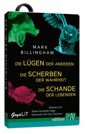 Die Billingham-Krimi-Box von Billingham,  Mark, Danowski,  Katja, Kaminski,  Stefan, Teschner,  Uwe