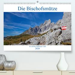 Die Bischofsmütze im schönen Salzburger Land (Premium, hochwertiger DIN A2 Wandkalender 2020, Kunstdruck in Hochglanz) von Kramer,  Christa