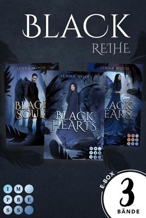 """Die Black-Reihe: Sammelband zur düster-magischen """"Black-Reihe"""" von Wood,  Jenna"""