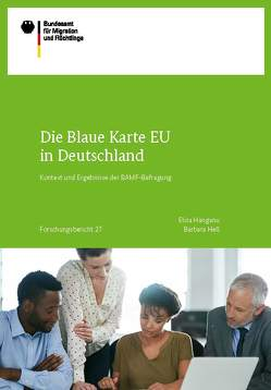 Die Blaue Karte EU in Deutschland von Hanganu,  Elisa, Hess,  Barbara