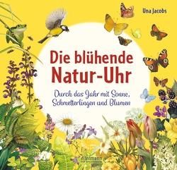 Die blühende Natur-Uhr von Jacobs,  Una