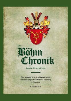Die Böhm Chronik Band 4 von Böhm,  Günter