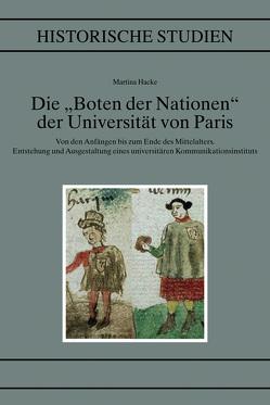 """Die """"Boten der Nationen"""" der Universität von Paris von Hacke,  Martina"""