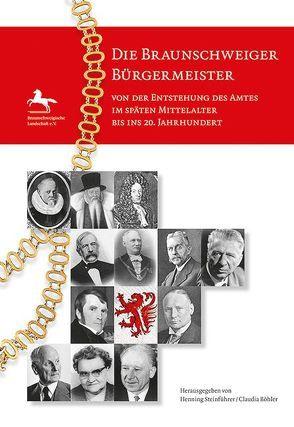 Die Braunschweiger Bürgermeister von Böhler,  Claudia, Steinführer,  Henning