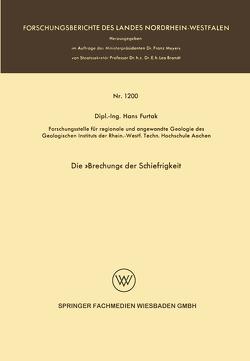 Die »Brechung« der Schiefrigkeit von Furtak,  Hans