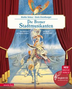Die Bremer Stadtmusikanten von Eisenburger,  Doris, Simsa,  Marko