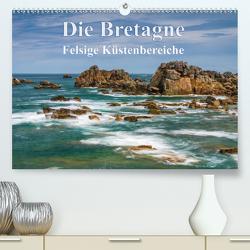 Die Bretagne – Felsige Küstenbereiche (Premium, hochwertiger DIN A2 Wandkalender 2021, Kunstdruck in Hochglanz) von Hoffmann,  Klaus
