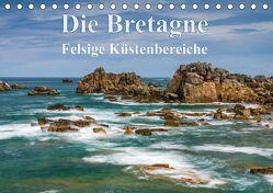 Die Bretagne – Felsige Küstenbereiche (Tischkalender 2018 DIN A5 quer) von Hoffmann,  Klaus