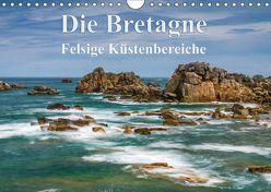 Die Bretagne – Felsige Küstenbereiche (Wandkalender 2018 DIN A4 quer) von Hoffmann,  Klaus