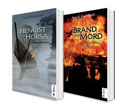 Die Britannien-Saga. Band 1 und 2: Hengist und Horsa / Brand und Mord. Die komplette Saga in einem Bundle von Kantelhardt,  Sven R.