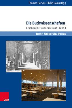 Die Buchwissenschaften von Baumann,  Uwe, Becker,  Thomas, Rosin,  Philip