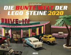 Die bunte Welt der LEGO® Steine 2020 von Klang,  Joachim