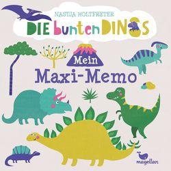 Die bunten Dinos – Mein Maxi-Memo von Holtfreter,  Nastja
