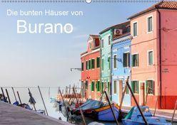 Die bunten Häuser von Burano (Wandkalender 2019 DIN A2 quer) von Kruse,  Joana