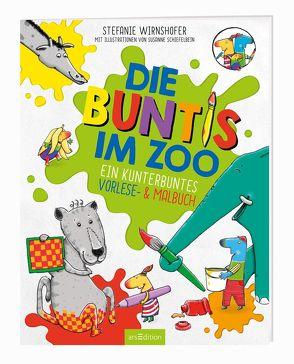 Die Buntis im Zoo von Schiefelbein,  Susanne, Wirnshofer,  Stefanie