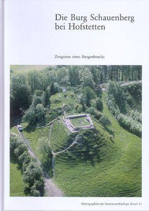 Die Burg Schauenburg bei Hofstetten von Matter,  Annamaria, Rast-Eicher,  Antoinette, Tiziani,  Andrea, Wininger,  Josef