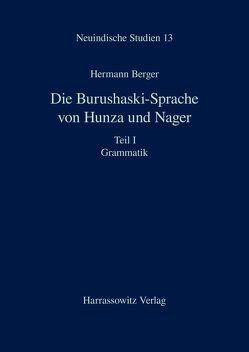 Die Burushaski-Sprache von Hunza und Nager von Berger,  Hermann