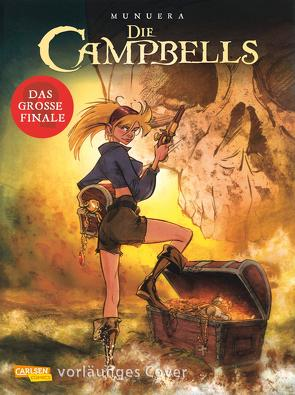 Die Campbells 5: Die drei Flüche von Le Comte,  Marcel, Munuera,  José Luis