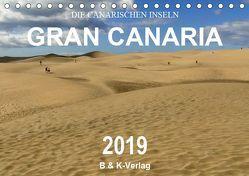 Die Canarischen Inseln – Gran Canaria (Tischkalender 2019 DIN A5 quer) von & Kalenderverlag Monika Müller,  Bild-