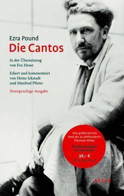 Die Cantos von Hesse,  Eva, Ickstadt,  Heinz, Pfister,  Manfred, Pound,  Ezra