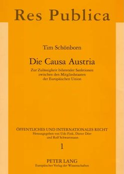 Die Causa Austria von Schönborn,  Tim
