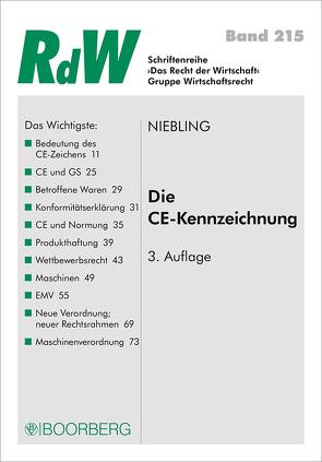 Die CE-Kennzeichnung von Niebling,  Jürgen