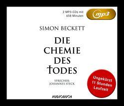 Die Chemie des Todes (MP3-CDs ungekürzt) von Beckett,  Simon, Steck,  Johannes, Strodthoff,  Jochen