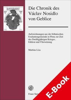 Die Chronik des Václav Nosidlo von Geblice von Lisa,  Martina
