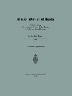 Die Dampfturbine als Schiffsmotor von Besig,  Karl