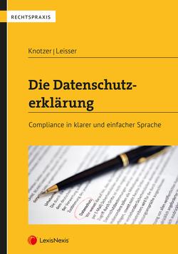 Die Datenschutzerklärung von Knotzer,  Stefan, Leisser,  Daniel