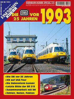 Die DB vor 25 Jahren – 1993