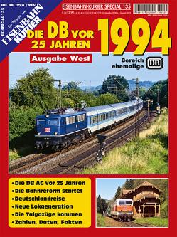 Die Deutsche Bahn vor 25 Jahren – 1994 Ausgabe West