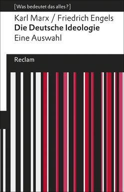 Die Deutsche Ideologie von Engels,  Friedrich, Jaeggi,  Rahel, Marx,  Karl