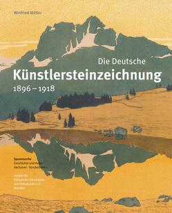 Die Deutsche Künstlersteinzeichnung 1896–1918 von Bünz,  Enno, Mueller,  Winfried, Schneider,  Joachim, Spieker,  Ira