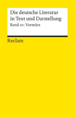 Die deutsche Literatur. Ein Abriss in Text und Darstellung von Vaßen,  Florian
