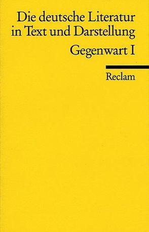 Die deutsche Literatur. Ein Abriss in Text und Darstellung von Kaiser,  Gerhard R