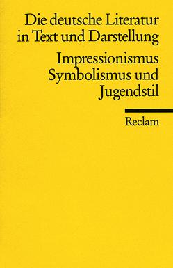Die deutsche Literatur. Ein Abriss in Text und Darstellung von Karthaus,  Ulrich