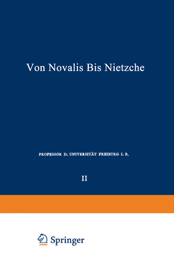 Die Deutschen Lyriker von Luther bis Nietzsche von Witkop,  Philipp
