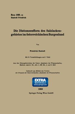 Die Diatomeenflora des Salzlackengebietes im österreichischen Burgenland von Hustedt,  Friedrich