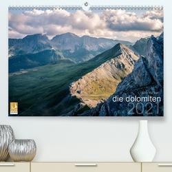 die dolomiten (Premium, hochwertiger DIN A2 Wandkalender 2021, Kunstdruck in Hochglanz) von Kohlem,  Arno
