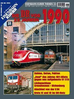 Die DR vor 25 Jahren – 1990
