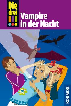 Die drei !!!, 27, Vampire in der Nacht (drei Ausrufezeichen) von Steckelmann,  Petra