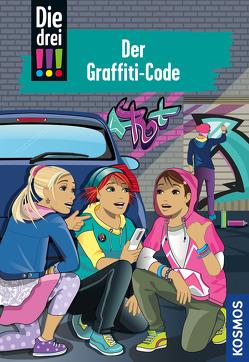 Die drei !!!, 64, Der Graffiti-Code von Vogel,  Kirsten
