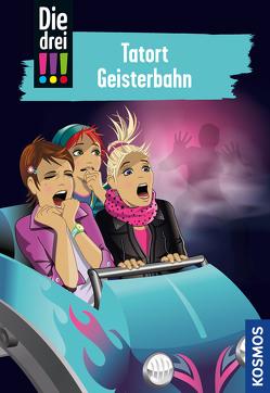 Die drei !!!, 67, Tatort Geisterbahn von Biber,  Ina, Sol,  Mira