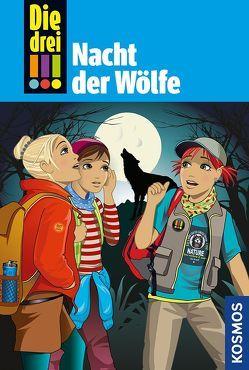 Die drei !!!, 69, Nacht der Wölfe von von Vogel,  Maja