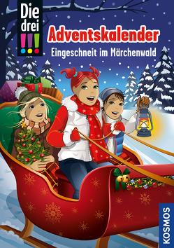 Die drei !!!, Eingeschneit im Märchenwald von Ambach,  Jule, Biber,  Ina, Vogel,  Kirsten