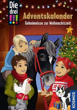 Die drei !!!, Geheimnisse zur Weihnachtszeit von Biber,  Ina, von Vogel,  Maja