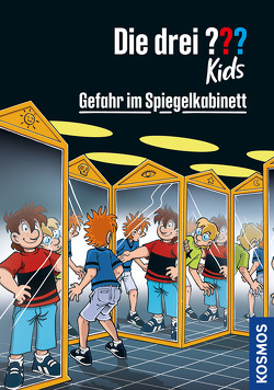 Die drei ??? Kids, 91, Gefahr im Spiegelkabinett von Pfeiffer,  Boris, Schmidt,  Kim